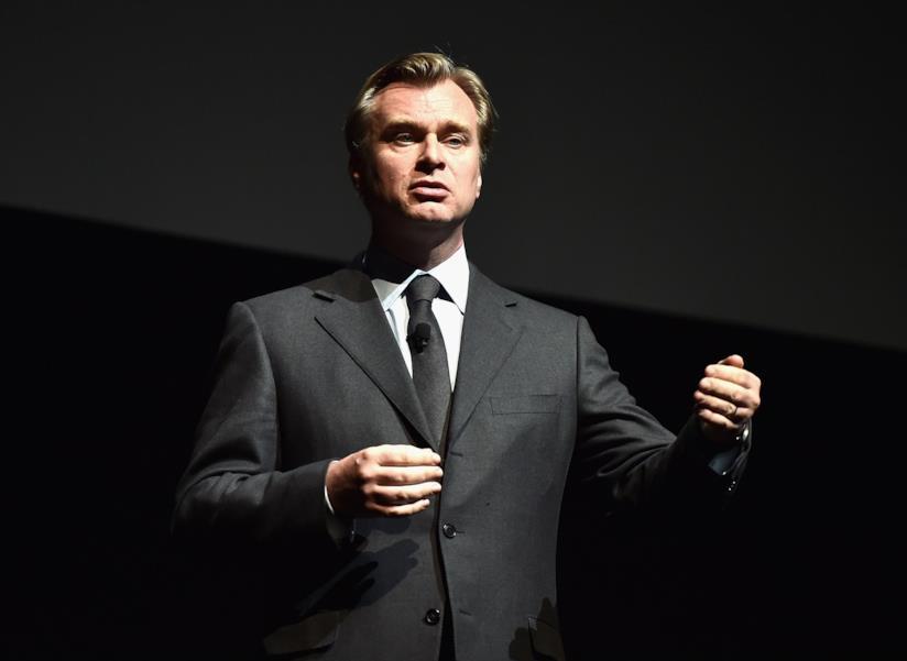 Primo piano di Christopher Nolan