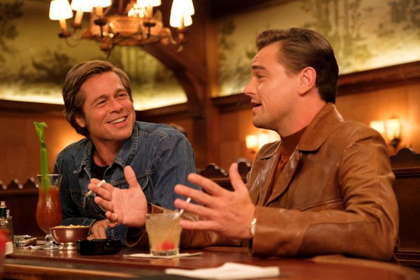 Brad Pitt, Leonardo DiCaprio - Cera una volta a ...Hollywood