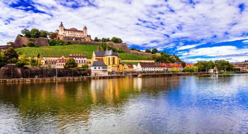 Würzburg sulla Valle del Meno, Germania
