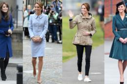 Kate Middleton in vari outfit