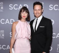 Sam Heughan e Caitriona Balfe allo Scad Savannah Film Festival