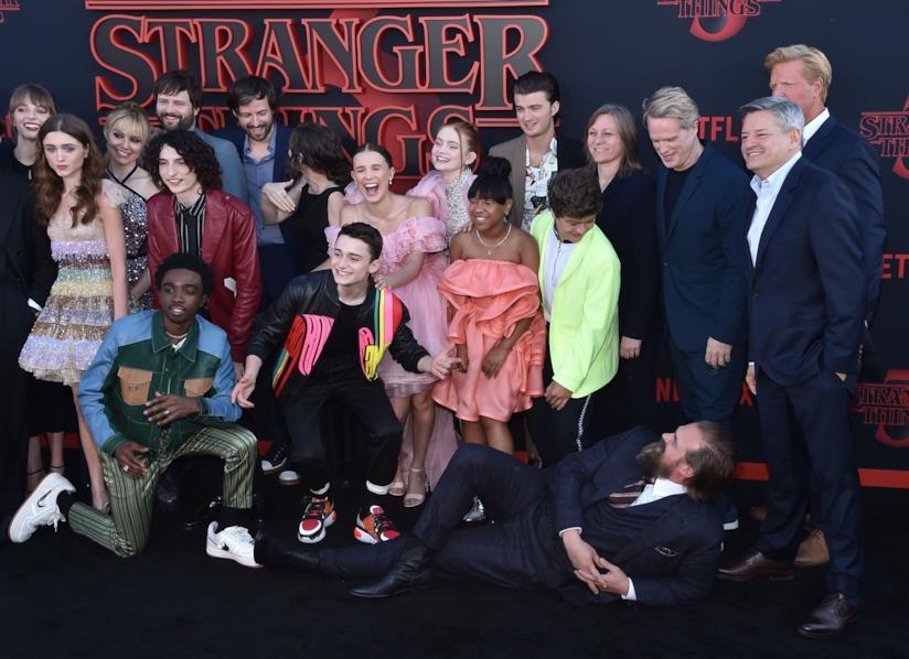 Il cast di Stranger Things