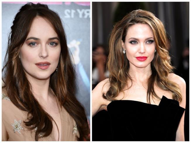 Dakota Johnson e Angelina Jolie