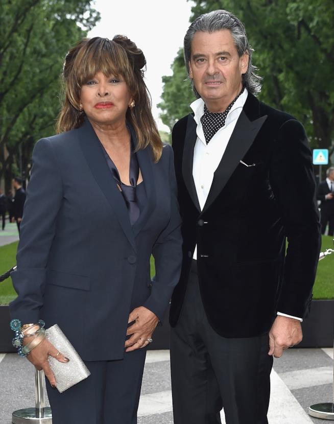 Tina Turner e il marito Erwin Bach