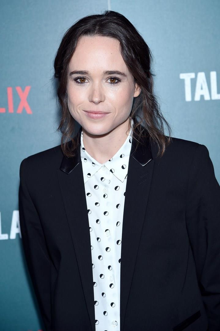 Primo piano di Ellen Page
