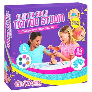 Set di Tatuaggi Glitter fai da te