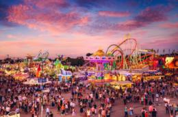 Vista aerea dell'Oktoberfest