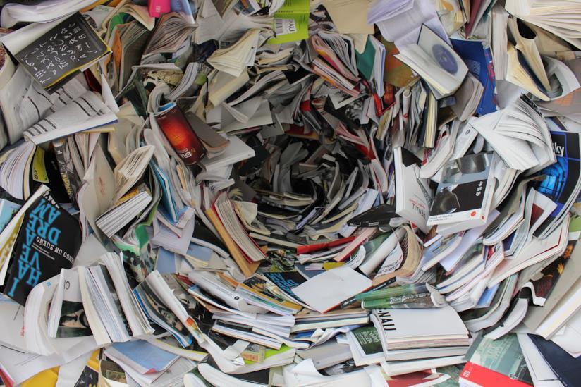 Tunnel di libri