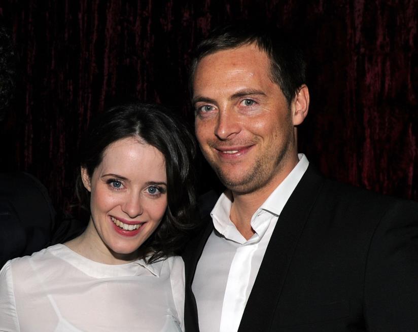 Claire Foy e l'ex marito Stephen Campbell Moore