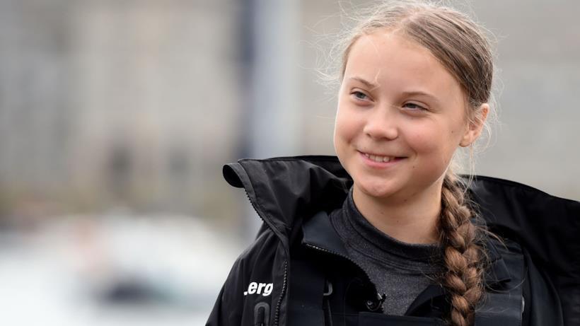 L'attivista Greta Thunberg