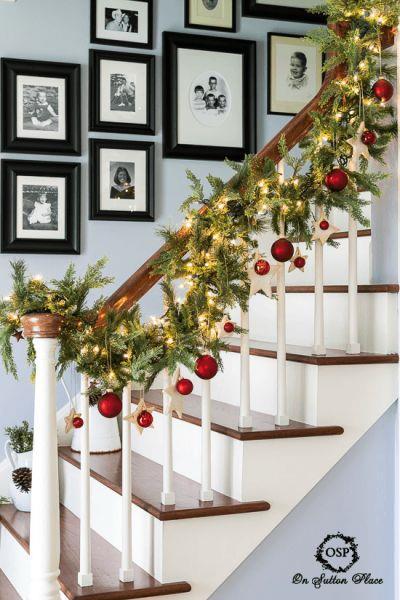 Addobbare casa per natale scegliendo le decorazioni for Decorazioni per scale interne