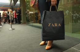 Un sacchetto di Zara