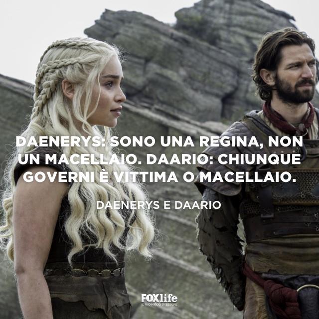 Daario e Daenerys