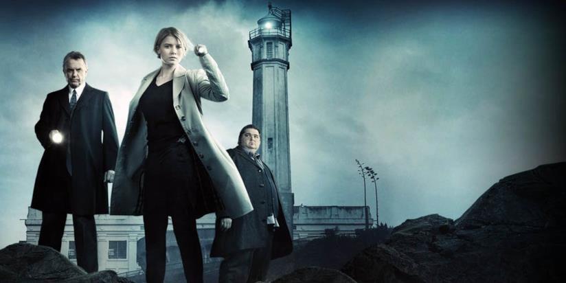 Il cast di Alcatraz