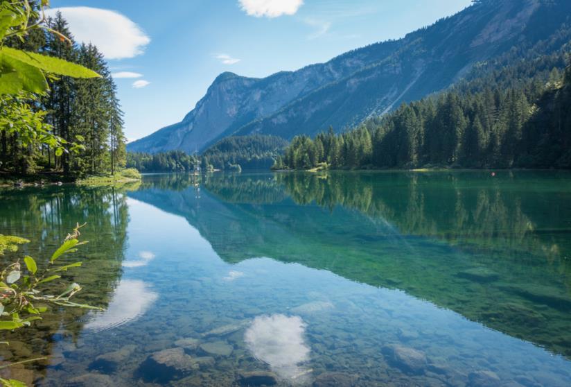 Viaggiare senza auto in Trentino, nel Parco Naturale Adamello Brenta