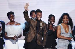Il cast di Black Panther