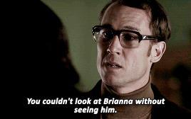 Frank dice a Claire che in Brianna vede Jamie
