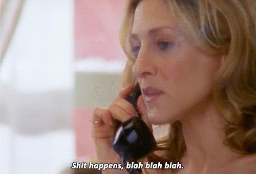 Carrie Bradshaw al telefono, GIF