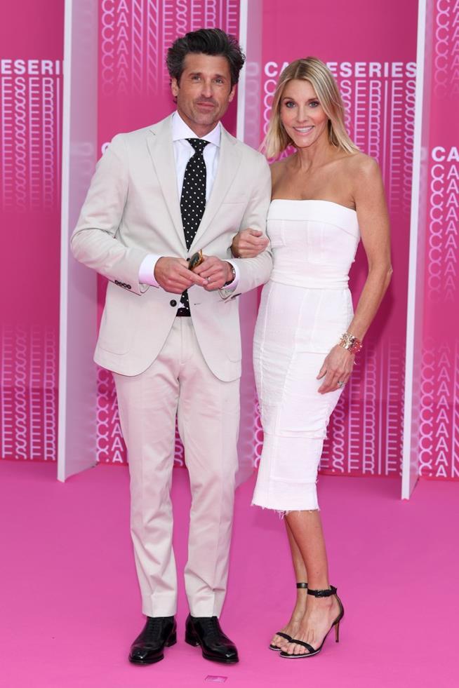 Patrick Dempsey e la moglie Jillian Fink