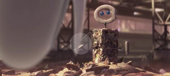 Scena tratta da Wall-E della Disney Pixar