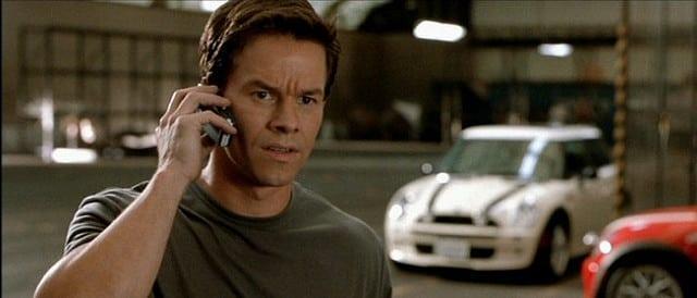 Mark Wahlberg in una scena di The Italian Job