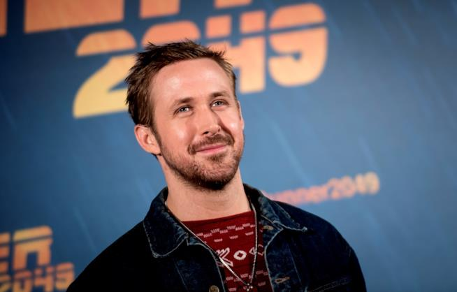 Ryan Gosling durante la promozione di Blade Runner 2049