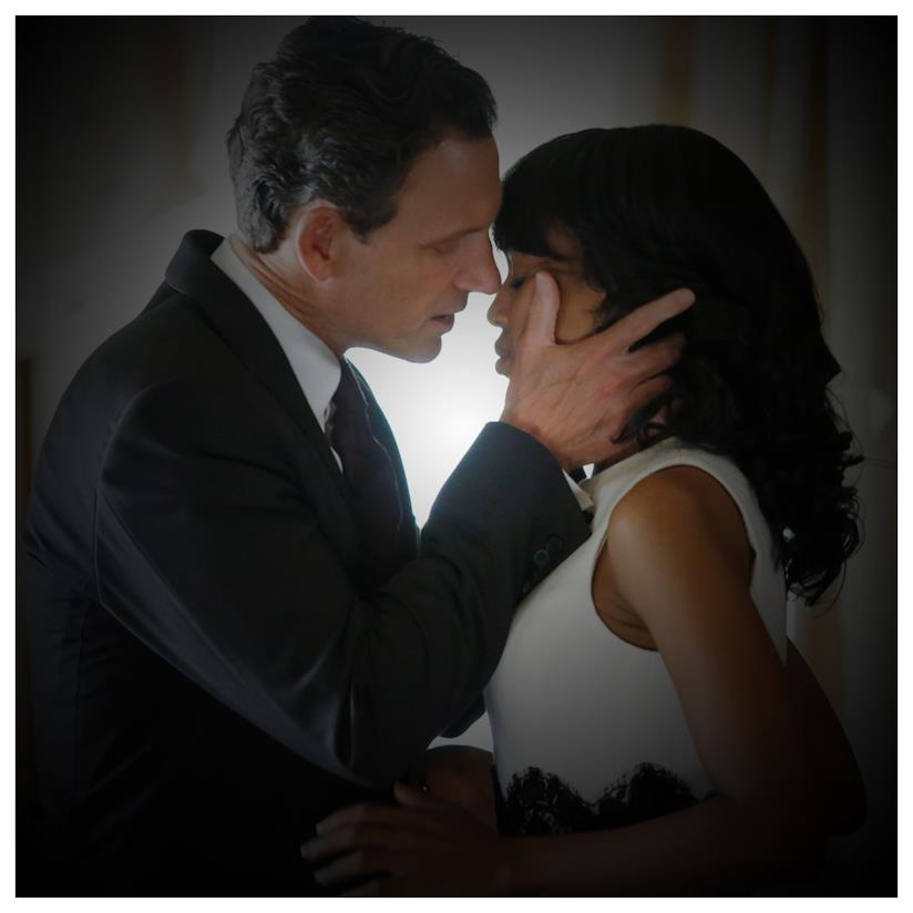 Scandal Olivia Pope con Fitz