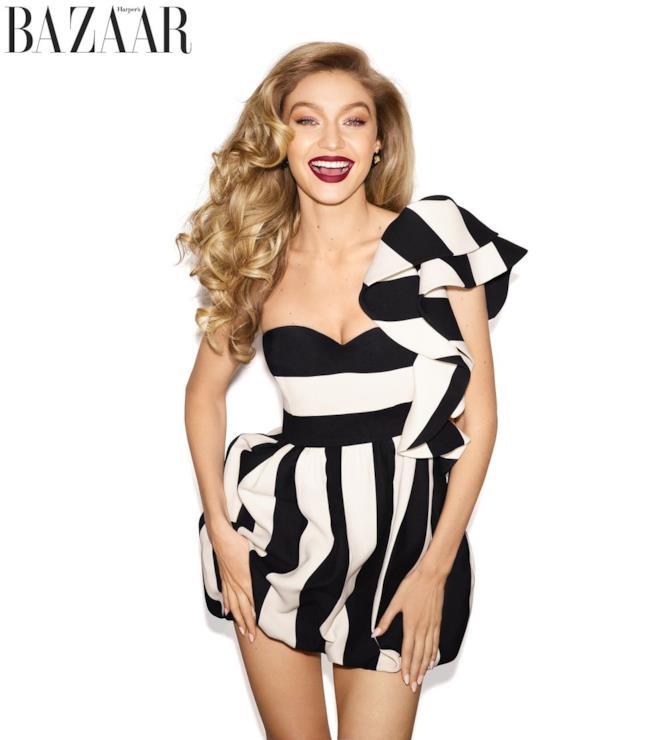 Gigi Hadid su Harper's Bazaar