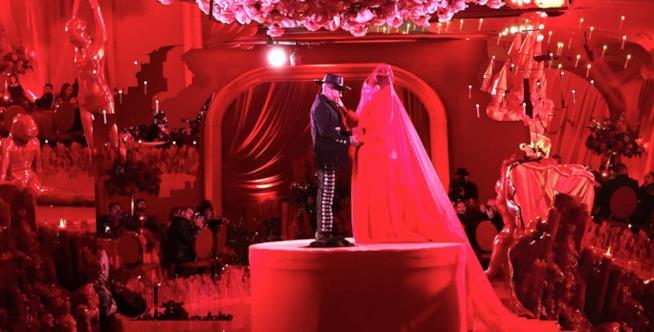 Kat Von D durante il matrimonio