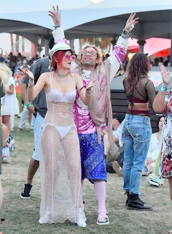 Bella Thorne al Coachella 2018