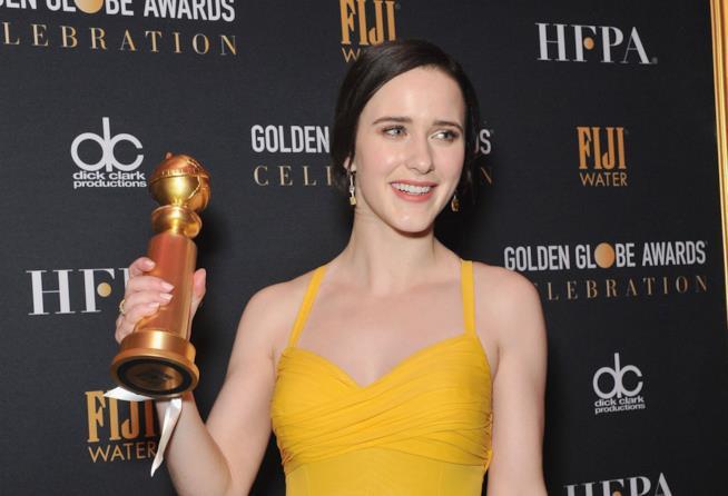 Rachel Brosnahan ai Golden Globe 2019