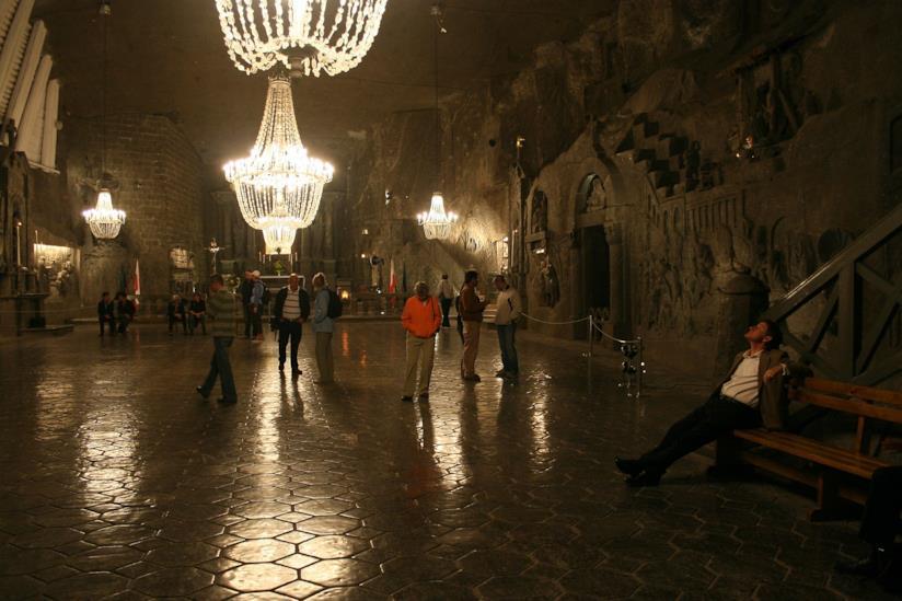 Le magiche miniere di sale di Wieliczka