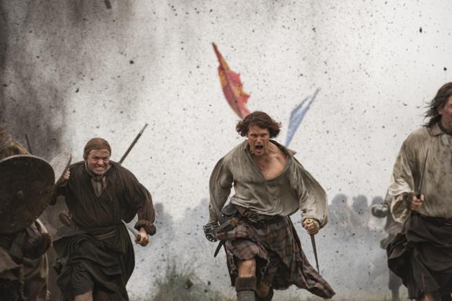 Jamie marcia su Culloden