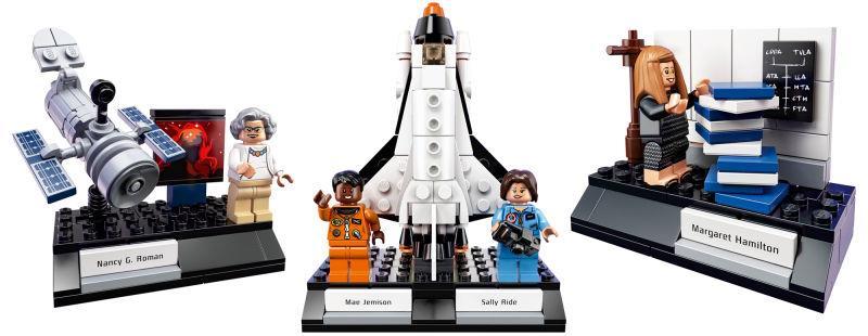 Il set LEGO Women of NASA