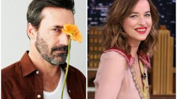 Dakota Johnson e Jon Hamm