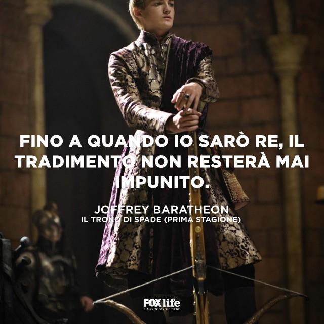 Joffrey con un arco