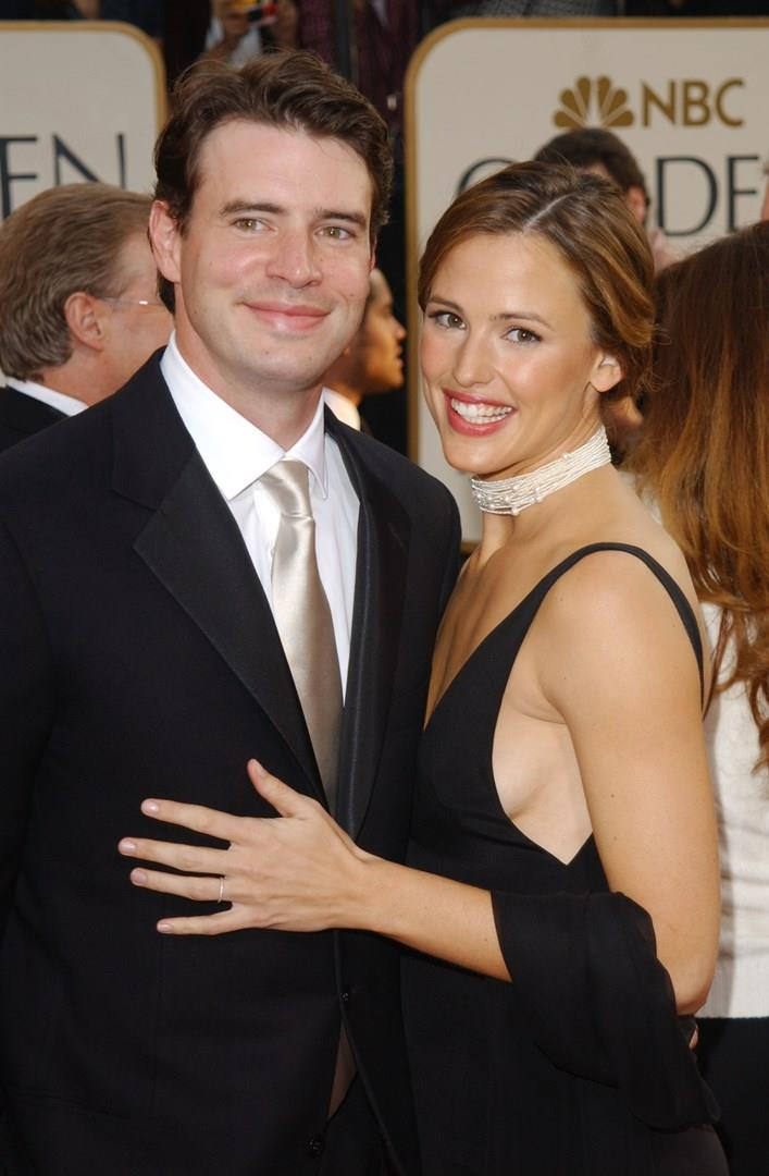 Scott Foley e Jennifer Garner insieme a un evento ai tempi del loro matrimonio