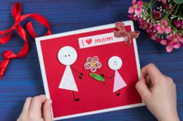Cartolina fai da te per la festa della mamma