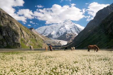 Tour tra le montagne del Kirghizistan