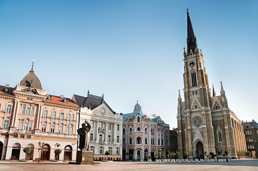 Trg Slobode di Novi Sad
