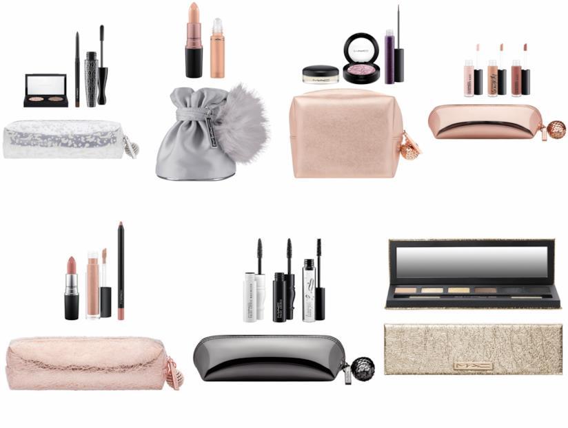 Pochette e kit natalizi di make-up MAC