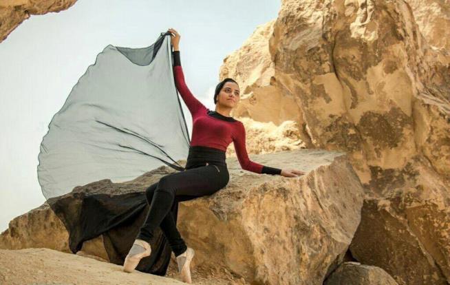 La ballerina Engy El Shazly
