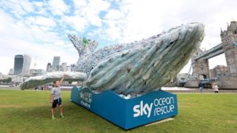 Una scultura marina per Sky Ocean Rescue