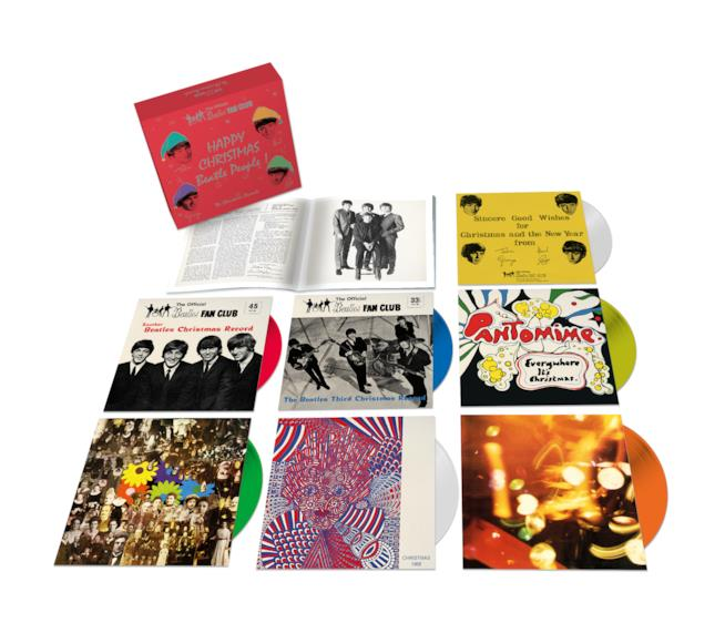 Beatles: il boxset The Crhistmas Records