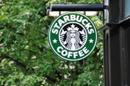Insegna con il logo della Starbucks