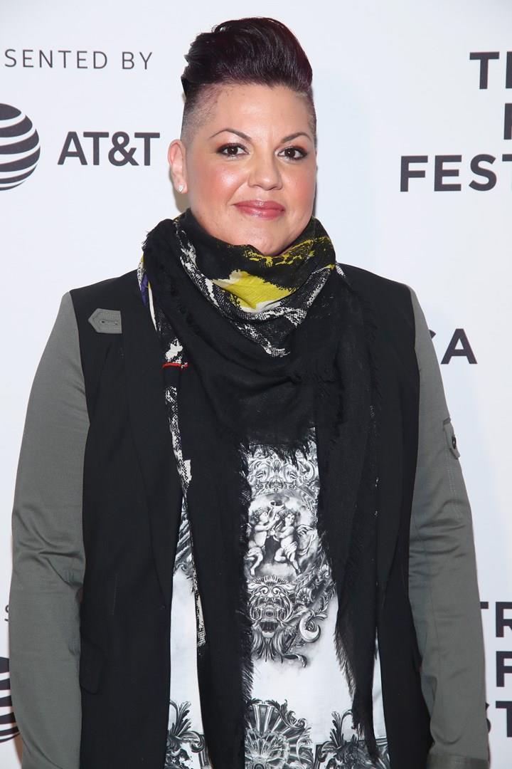 L'attrice Sara Ramirez a un evento a New York