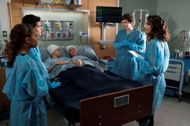 Un'immagine dall'episodio 1x12 di The Good Doctor