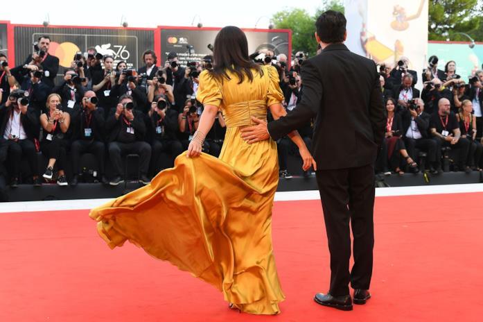 Alessandra Mastronardi sul red carpet di Venezia 76 del 29 agosto