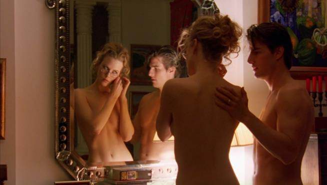 Scena dal film Eyes Wide Shut di Stanley Kubrick