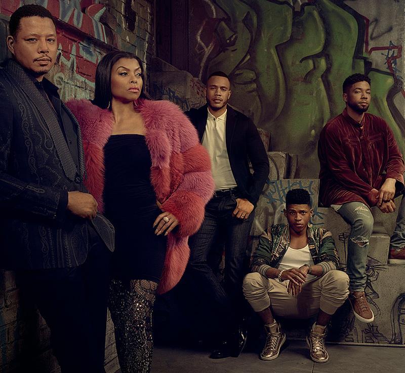 Il cast di Empire: famiglia Lyon